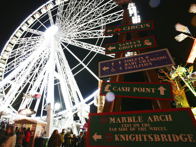 fun Christmas holiday activities in London